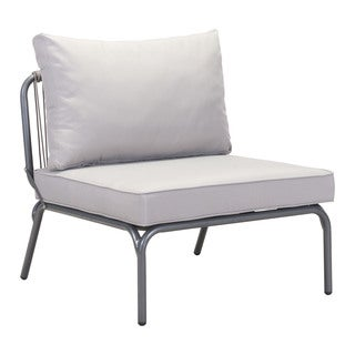 Pier Armless Grey Single Seat