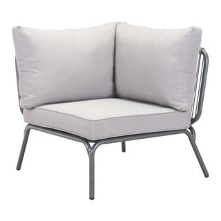 Pier Grey Armless Corner Single Seat