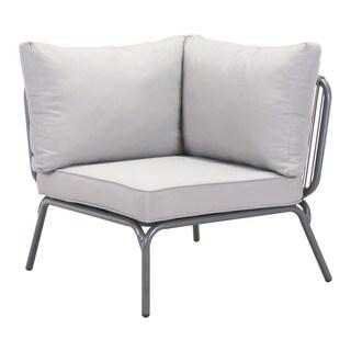 Pier Grey Armless Corner Single Seat