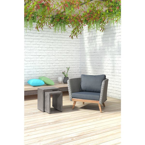 Cool Shop Mom Nesting Cement Side Tables Free Shipping Today Uwap Interior Chair Design Uwaporg
