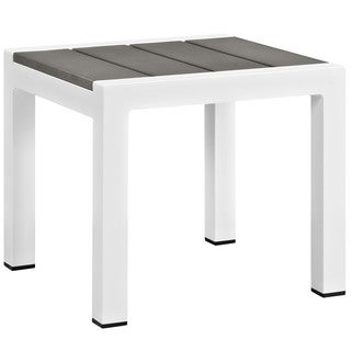 Beach Outdoor Patio Aluminum Side Table