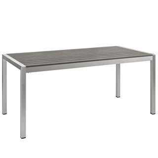 Beach Outdoor Patio Aluminum Dining Table
