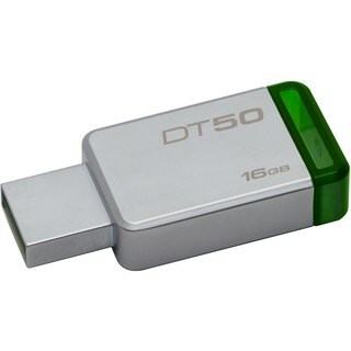 Kingston 16GB USB 3.0 DataTraveler 50 (Metal/Blue)
