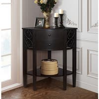 Gallerie Decor Sutton Two Door Corner Chest