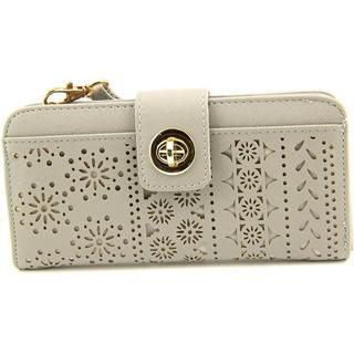 Kelly & Katie Women's 'Ariel' Grey Faux Leather Handbags