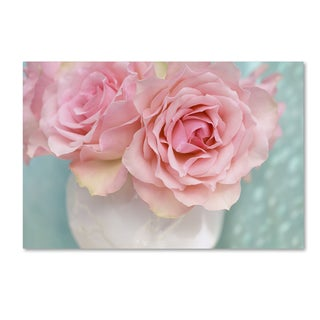 Cora Niele 'Pink Rose Bouquet' Canvas Art