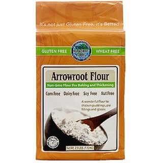 Authentic Foods 2.5-pound Gluten Free Arrowroot Flour (Pack of 2)