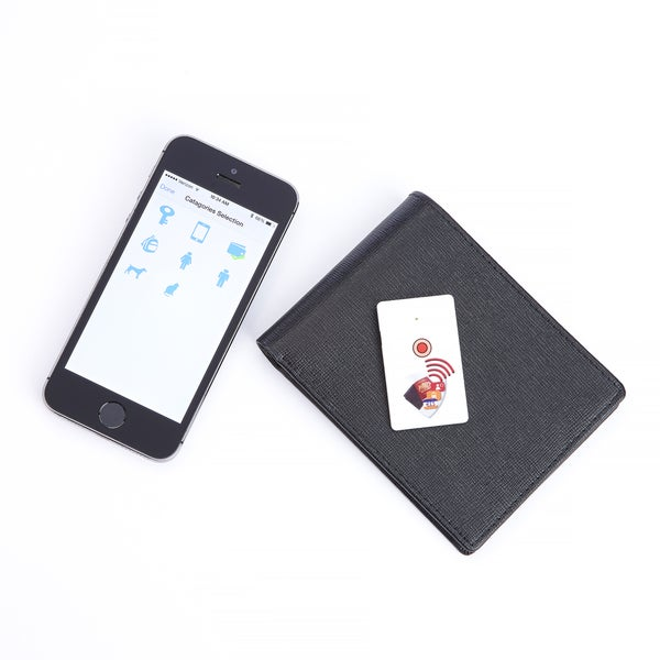Royce Leather Slim Bluetooth Tracker With Selfie Remote