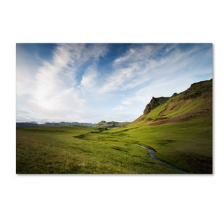 Philippe Sainte-Laudy 'Icelandic Green' Canvas Art