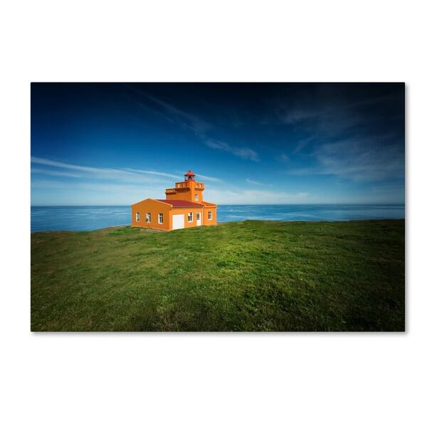 Philippe Sainte-Laudy 'Lighthouse Sauoanes' Canvas Art