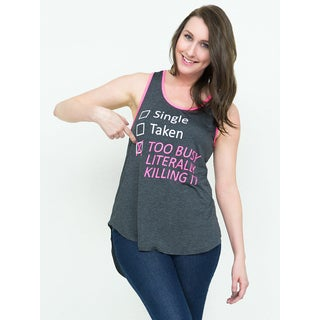 Hot Gal Women's 'Too Busy Literally Killing It' Tank