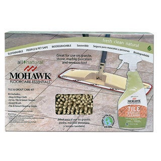 Mohawk Home FloorCare Essentials Tile and Grout Care Kit - MultiColor