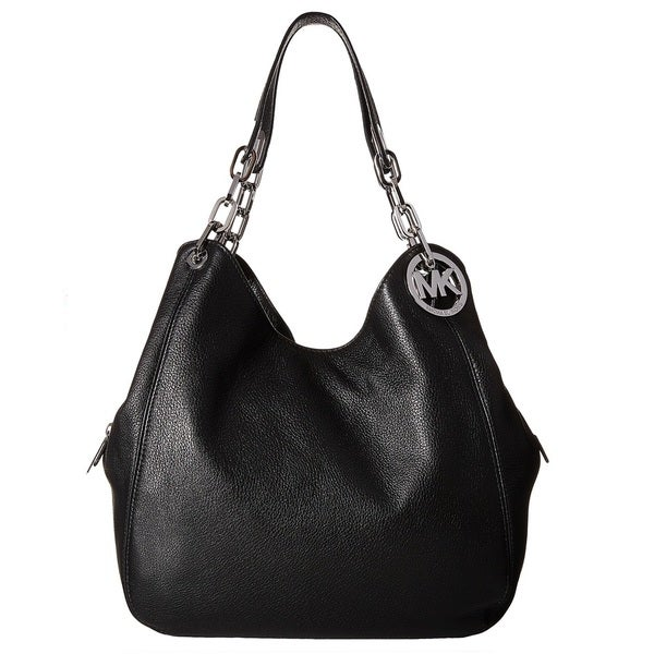 Shop Michael Kors Fulton Large Black Shoulder Tote Bag - Free ... 877797ad23481