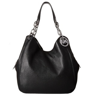 MICHAEL Michael Kors Fulton Large Shoulder Tote - Black