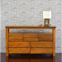 Cayu Live Edge Brown 8-drawer Dresser