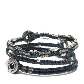 Beaded Wrap Bracelet Set (Guatemala)