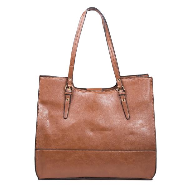 Mondani Dakota Scoop Double Shoulder Tote Bag