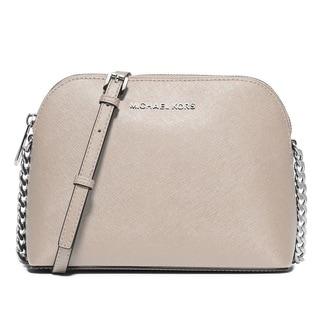 Michael Kors Cindy Large Cement Dome Crossbody Handbag