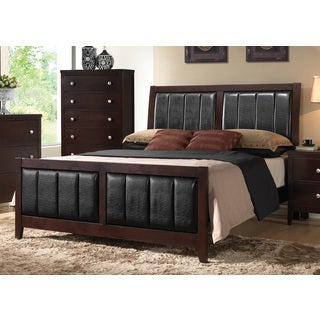 Copper Grove Angelina Cappuccino Bed Frame