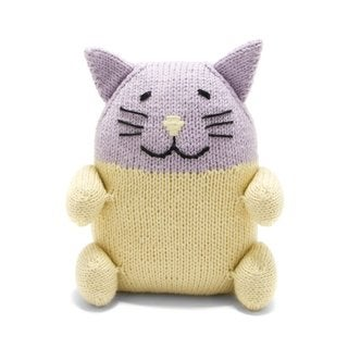 Handmade Chubby Cotton Kitty (Peru)