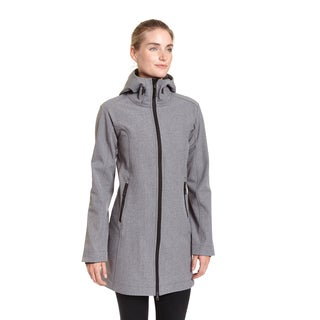 Champion Excelled Women's Hooded 3-quarter Softshell Jacket