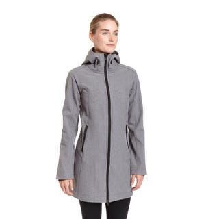 Champion Excelled Women's Hooded 3-quarter Softshell Jacket|https://ak1.ostkcdn.com/images/products/12382188/P19205115.jpg?impolicy=medium