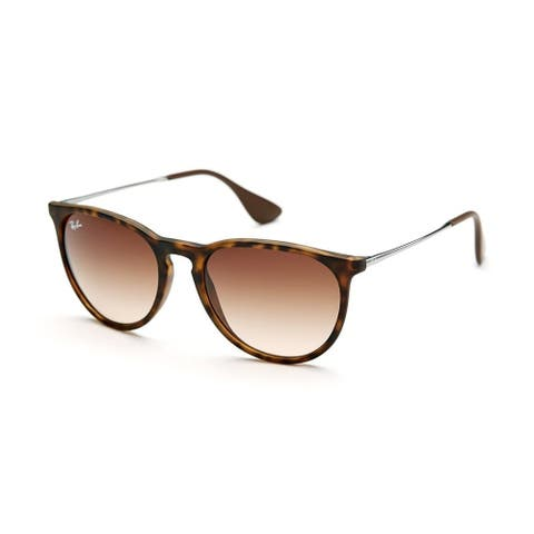 Ray-Ban Erika RB4171 865/13 Tortoise/Gunmetal Frame Brown Gradient 54mm Lens Sunglasses