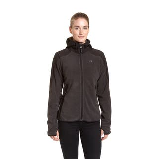 Champion Women's Textured Fleece Zip-front Stretch Hoodie|https://ak1.ostkcdn.com/images/products/12382227/P19205119.jpg?impolicy=medium