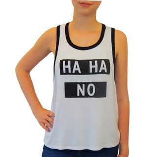 Hot Gal Women's 'Ha Ha No' Tank
