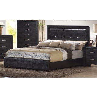 Coaster Company Home Furnishings Casual Contemporary Bed (Black)