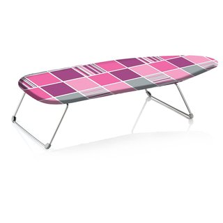 Perilla Mini C Steel 12-inch x 30-inch Portable Table-top Ironing Board with Folding Legs