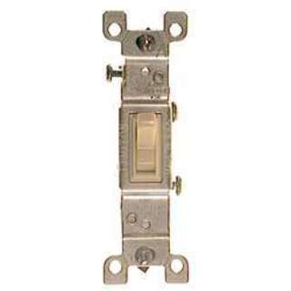 Leviton 203-1451-2I Ivory Residential Grade AC Quiet Switches Toggle