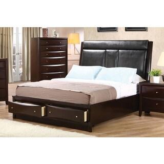 Coaster Company Phoenix Cappuccino Storage Bed