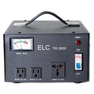 ELC TR-3000 Voltage Regulator with Transformer