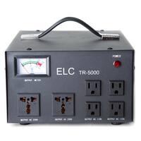 ELC TR-5000 5,000-watt 110V/220V Voltage Regulator with Transformer