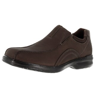Men's Clarks Sherwin Time Chocolate Leather