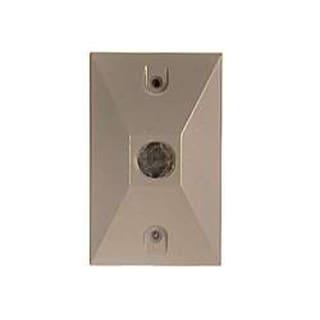 Bell Outdoor 5186-7 Bronze Single Outlet Weatherproof Rectangular Lampholder Cov