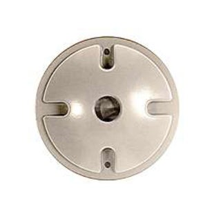 Bell Outdoor 5193-6 4-inch White Single Outlet Weatherproof Round Lampholder Covers