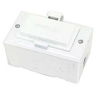Bell Outdoor 5874-6 White Single Gang Weatherproof Device Kit