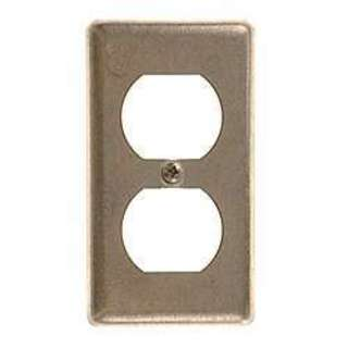 Hubbell Raco 0864 Single Gang Duplex Receptacle Wallplate