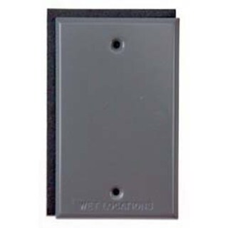 Bell Outdoor 5173-7 Bronze Single Gang Blank Switch Plate Cover