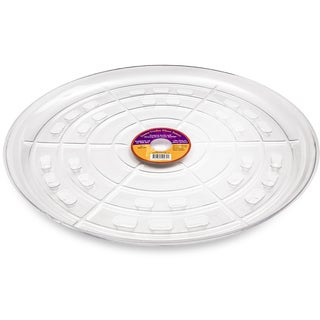 Down Under Plant Caddie 52140 21-inches Clear Saucer