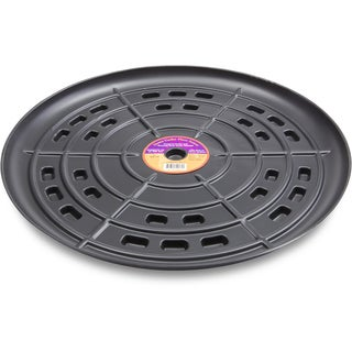 Down Under Plant Caddie 52110 21-inches Black Saucer