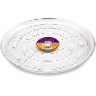 Down Under Plant Caddie 51740 17-inches Clear Saucer