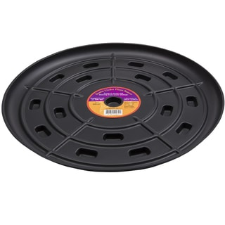 Down Under Plant Caddie 51710 17-inches Black Saucer