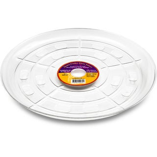 Down Under Plant Caddie 51540 15-inches Clear Saucer