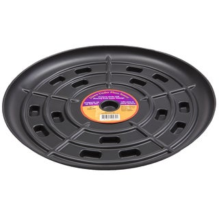 Down Under Plant Caddie 51510 15-inches Black Saucer