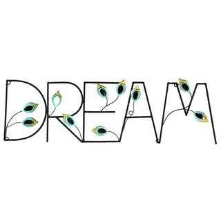 River Cottage Gardens J23541-BHYGPB Dream Metal Wall Plaque