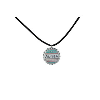 Be The Envy Pastel Aztec Name Necklace