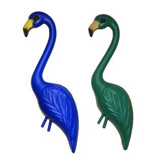 Pink Inc. YSW2-RBGR 33-inches Blue & Green Flamingo